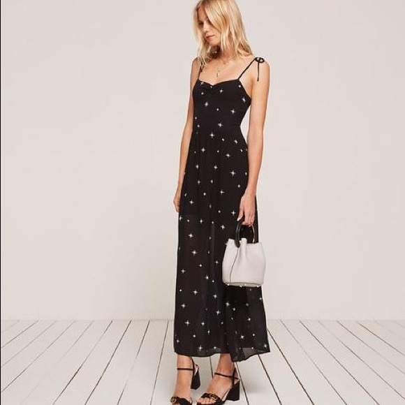 f20651a8 Reformation Sylvia constellation maxi dress NWT